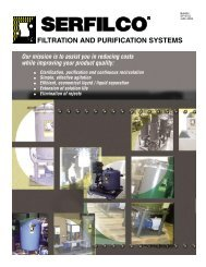 FILTRATION AND PURIFICATION SYSTEMS