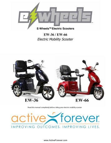eWheels ew66 Product Manual - ActiveForever