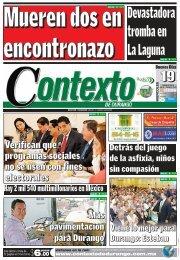 19/06/2013 - Contexto de Durango