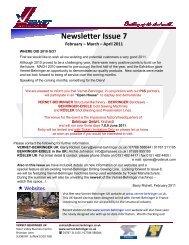 Newsletter Issue 7 February – March - Vernet Behringer UK