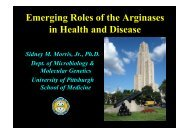 Molecular Genetics University of Pittsburgh School of Medicine