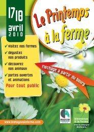 fléchageàpartirdubourg - Chambres d'agriculture
