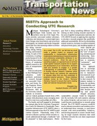 MiSTI Volume 2 No. 1 - Michigan Technological University