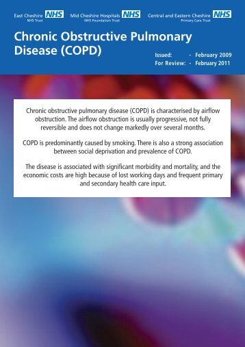 Chronic Obstructive Pulmonary Disease (COPD) - East Cheshire ...