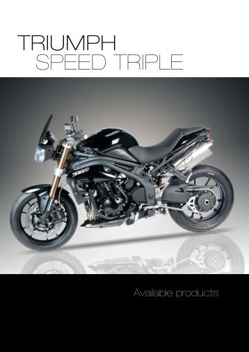 TRIUMPH SPEED TRIPLE - Masi-Import