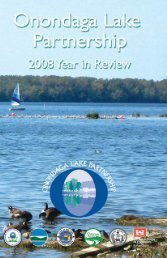 Year in Review - Onondaga Lake Partnership