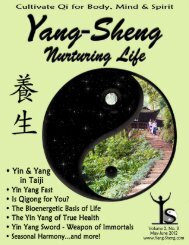 Download May/June issue of Yang-Sheng as a PDF