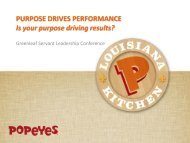 purpose - Greenleaf Center for Servant Leadership