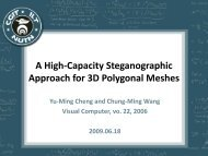 A high-capacity steganographic approach for 3D polygonal meshes