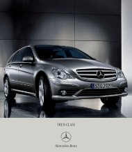 THE R - CLASS Four wh - Mercedes-Benz Ireland