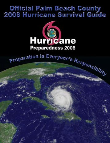 Hurricane Preparedness Guides (2008) - Town of Ocean Ridge