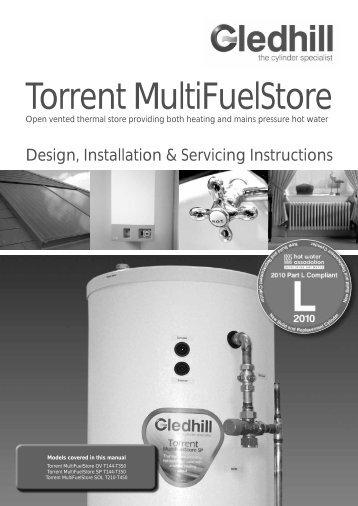 Torrent MultiFuelStore - Gas Appliance Guide
