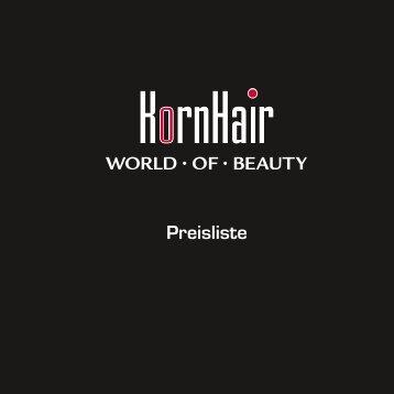 Preisliste - KornHair