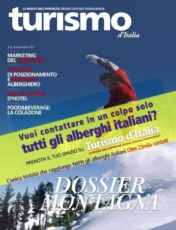 Turismo d'Italia - Federalberghi