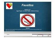 Faustlos - Petra-buchwald.de