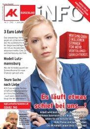 Es läuft etwas schief bei uns...! - AK - Burgenland - Arbeiterkammer