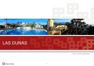 Las Dunas Hotel , Mini Brochure - Restless Earth