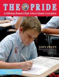 Archbishop Rummel High School Alumni Association VOLUME 3 ...