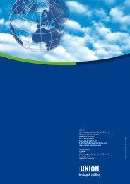 union pr 200 union pr 250 - UNION Werkzeugmaschinen GmbH ...