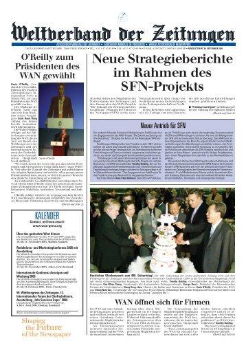 Wan 30 aleman - World Association of Newspapers