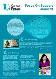 Focus On Support Autumn 2012 - Cancer Focus Northern Ireland