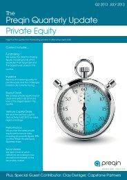 Preqin Quarterly Update: Private Equity, Q2 2013