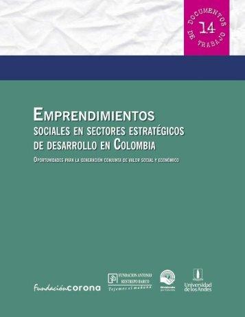 emprendimientos sociales - Mapeo de Promotores de RSE