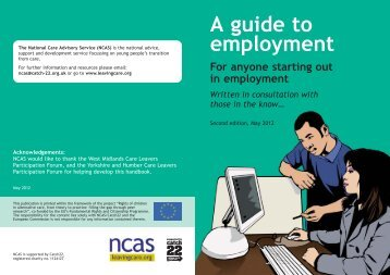 A guide to employment
