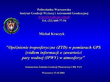 and 10 - Centrum Badań Kosmicznych PAN