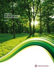 Zpráva o společenské odpovědnosti 2012 - Třinecké železárny