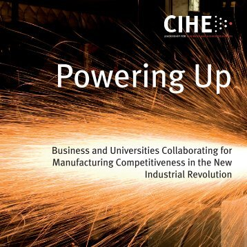 Business and Universities Collaborating for Manufacturing ...