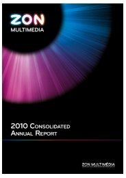 Consolidated Management Report 2010 - Zon
