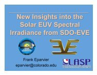 New Insights into the Solar EUV Spectral Irradiance from SDO-EVE