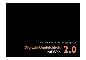Digitale Ungleichheit und Web 2.0 - Wolfgang B. Ruge
