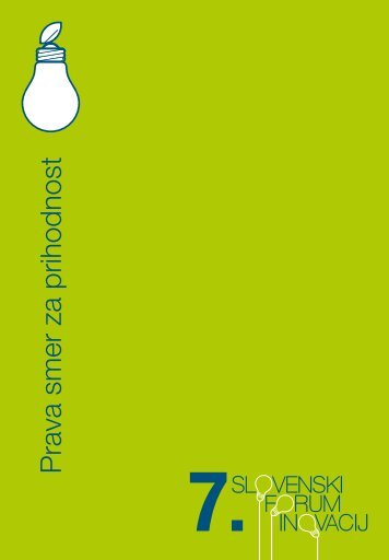 PDF katalog - Slovenski forum inovacij