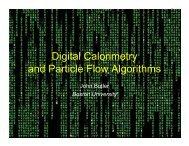 Calorimetry - Boston University Physics Department.