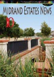 The Midrand Estates Newsletter - April 2013 1