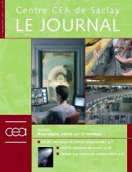 Journal de Saclay n°35 - CEA Saclay