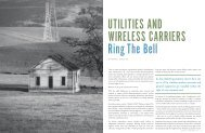Utilities and Wiresless Carriers Ring the Bell - International Right of ...
