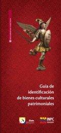 Guía de identificación de bienes culturales patrimoniales