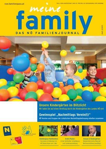 Nachmittags Verein(t) - Familienpass