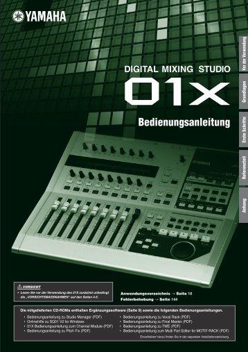 01X Channel Module -  Yamaha