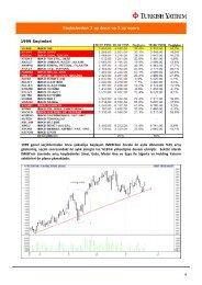 Seçimlerden 2 ay önce ve 2 ay sonra 1999 Seçimleri ... - Turkborsa.net