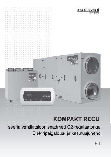 Komfovent RECU C2 paigaldus- ja ... - BVT Partners OÜ