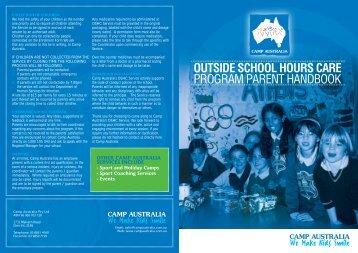 Camp Australia Parent Handbook