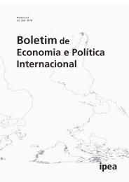 Leia Boletim na íntegra - Ipea