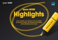 Ipsos MORI Highlights Feb 2015 FINAL