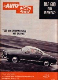 Leseprobe als PDF (4.2MB) - Karmann-Ghia Forum