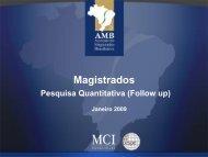 Pesquisa de avaliação da gestão - AMB