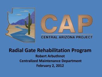 Radial Gate Rehabilitation